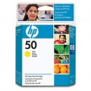 HP 50 Yellow Inkjet Print Cartridge