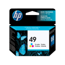 HP 49 Tri-color Inkjet Print Cartridge